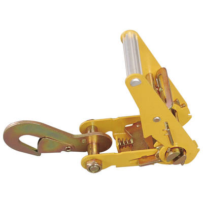 "2"" Ratchet Buckle Standard Handle with Snap Hook 4000 LBS WLL"