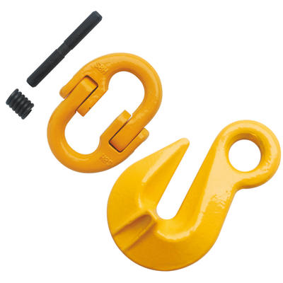 5/8'' Grade 80 Eye Grab Hook With Connecting Link