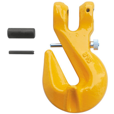 "3/8"" Grade 80 Clevis Grab Hook with Locking Pin"