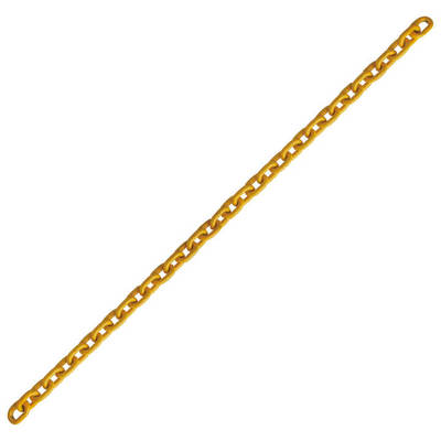 "5/16"" Grade 80 Alloy Chain Yellow Painted Over Zinc Plated"