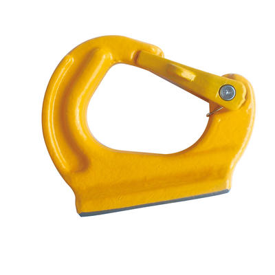 3 Ton Grade 80 Weld on Anchor Hook Painted Yellow