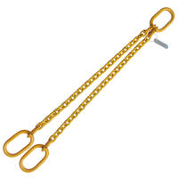 "5/16"" x 4' G80 Chain Sling with Master Link Double Leg"