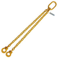 "5/16"" x 4' G80 Chain Sling with Omega Link Double Leg"