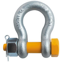 "1/2"" G2140 Grade 80 HDG Alloy Anchor Shackle Clevis Bolt Nut"