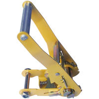 "2"" Ratchet Buckle Long Wide Handle Painted Yellow 4000 LBS"