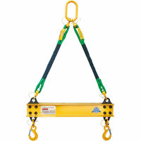 2 Ton Aluminum 2' Spreader Beam / Bar with 2 FT Sling