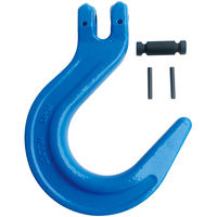 "5/8"" Grade 100 Clevis Foundry Hook Blue"