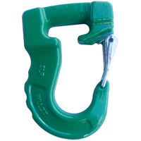 3T Grade 100 Web Sling Hook Green