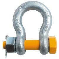 "5/8"" G2140 Grade 80 HDG Alloy Anchor Shackle Clevis Bolt Nut"