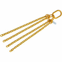 "5/16""x2' Grade 80 Chain Sling Open End 4 Leg"