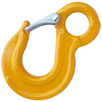 "5/16"" Grade 80 Eye Sling Hook with Safety Latch"