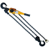 6 Ton x 10FT Chain Come Along Chain Hoist Puller Self Lock