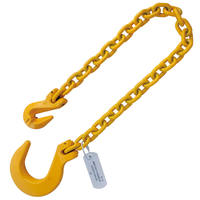 "1/2""x10' Foundry Hook Recovery Chain G8 with Grab Hook End"