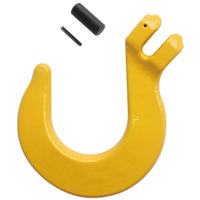 "1/2"" Clevis Foundry Hook Grade 80 Painted Yellow"
