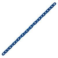 "3/8"" Grade 100 Alloy Chain Blue Painted Over Zinc Plated"