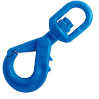 "5/16"" Grade 100 Swivel Self Locking Hook"