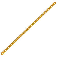 "3/8"" Grade 80 Alloy Chain Yellow Painted Over Zinc Plated"