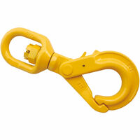 "5/16"" Grade 80 Swivel Self Locking Hook"