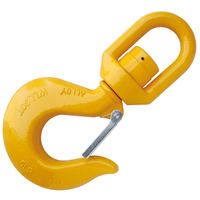 30T Grade 80 Hoist Swivel Hook with Bearing