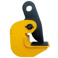 0.8 Ton Horizontal Locking Plate Lifting Clamp 1760 lbs Capacity