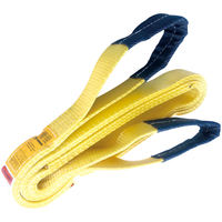 "2"" x 14' Nylon Lifting Sling Lifting Tow Strap Eye & Eye 2 PLY"