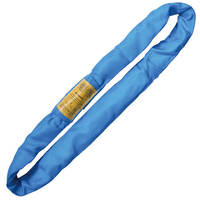 Blue 16' Endless Round Lifting Sling Heavy Duty Polyester