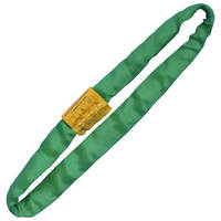Green 3' Endless Round Lifting Sling Heavy Duty Polyester
