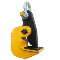 0.8 Ton Horizontal Locking Plate Lifting Clamp w/ Shackle